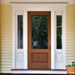 Captiva 8301 exterior door with sidelites