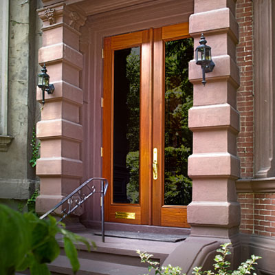 Photo of Captiva Brownstone Glass Door