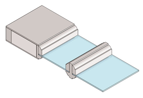 Drawing of Single Pane Glass