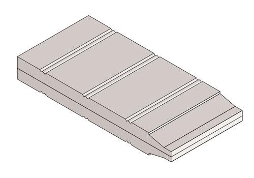 Drawing of Bevel Panel Bead