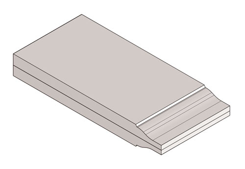 Drawing of Panel Ogee