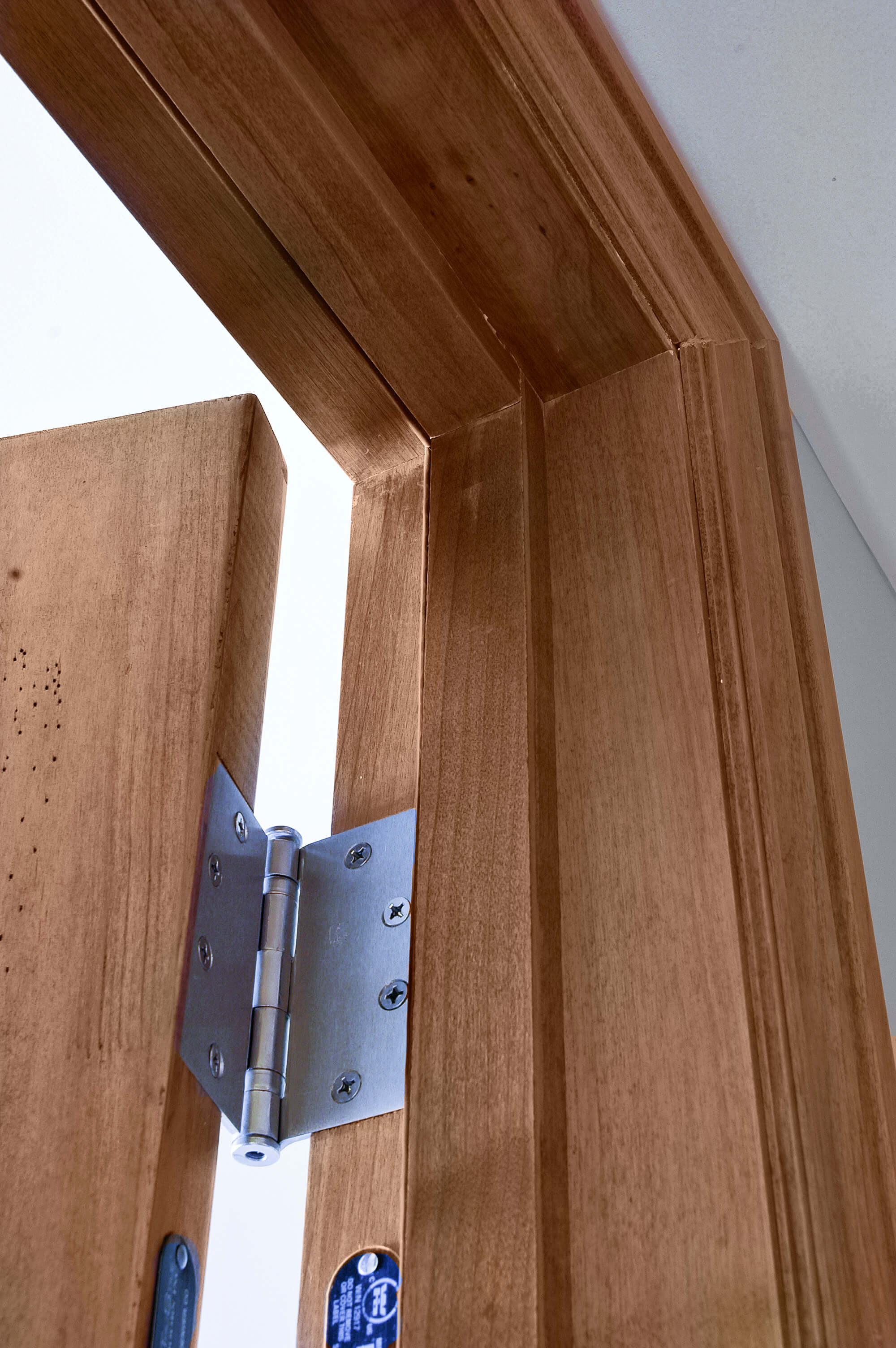 Doors Jambs: Wood Fire-Rated Doors And Frames