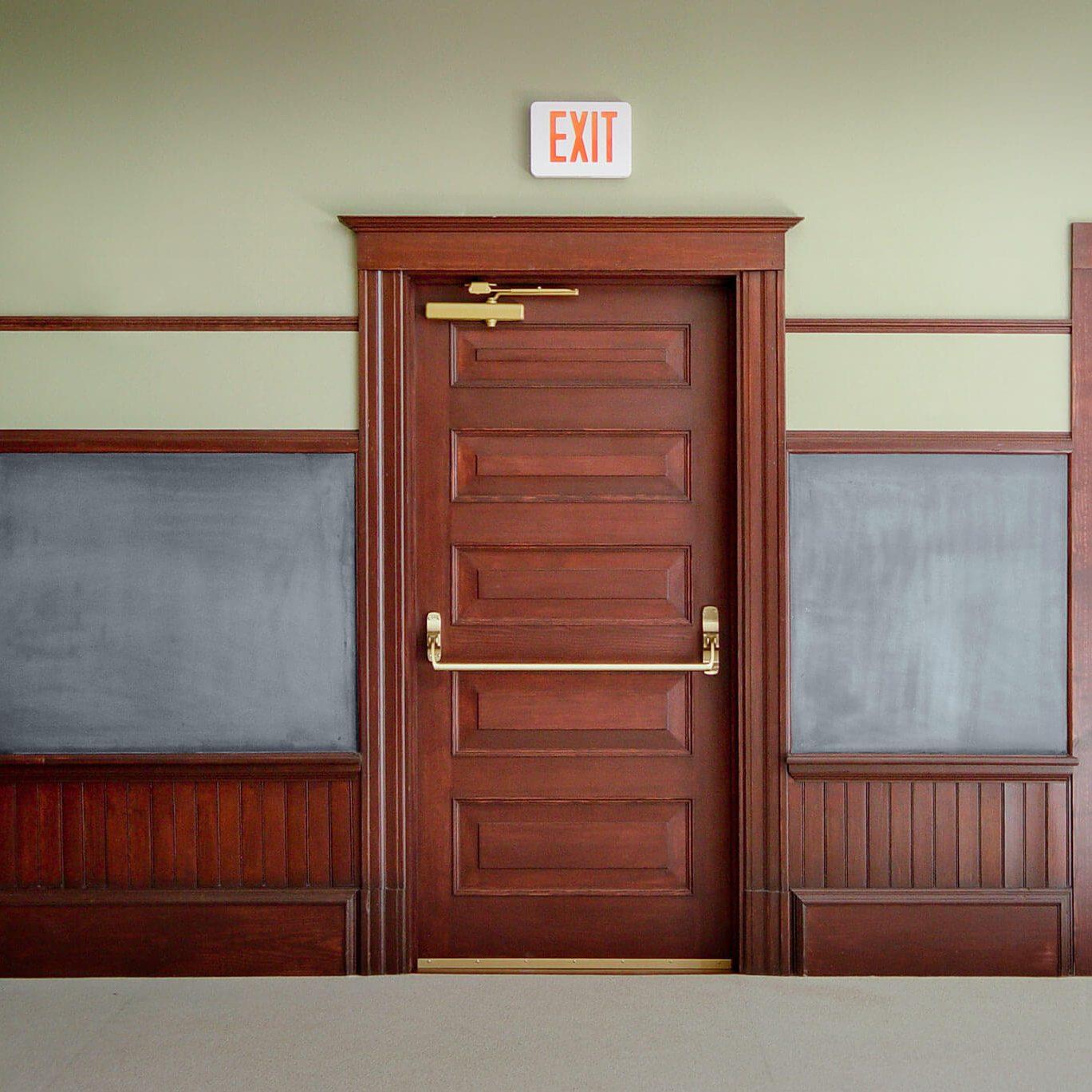 Photo of a commercial Captiva door