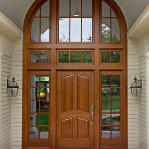 Photo of Captiva door with Sidelites and Transom