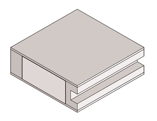 Drawing of Sticking Square