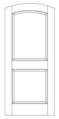 Drawing of 8009A Captiva door