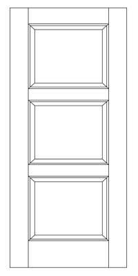 Drawing of 8020 Captiva door