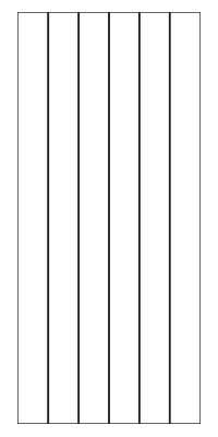 Drawing of 8150B Captiva door