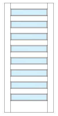 Drawing of 8418 Captiva door