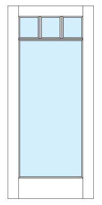 Drawing of 8610Captiva door