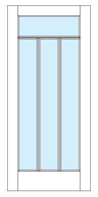 Drawing of 8611 Captiva door