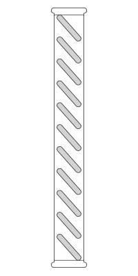 Drawing of vented louver detail