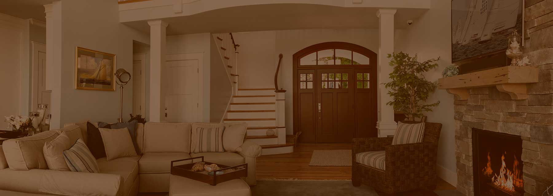 Photo of Captiva front entry door