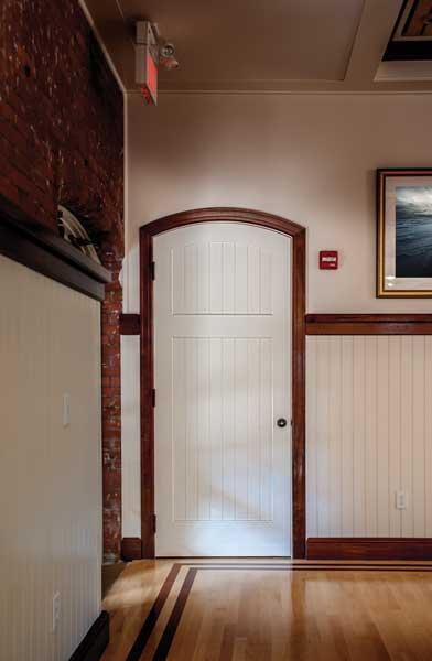Beaded arch door photo