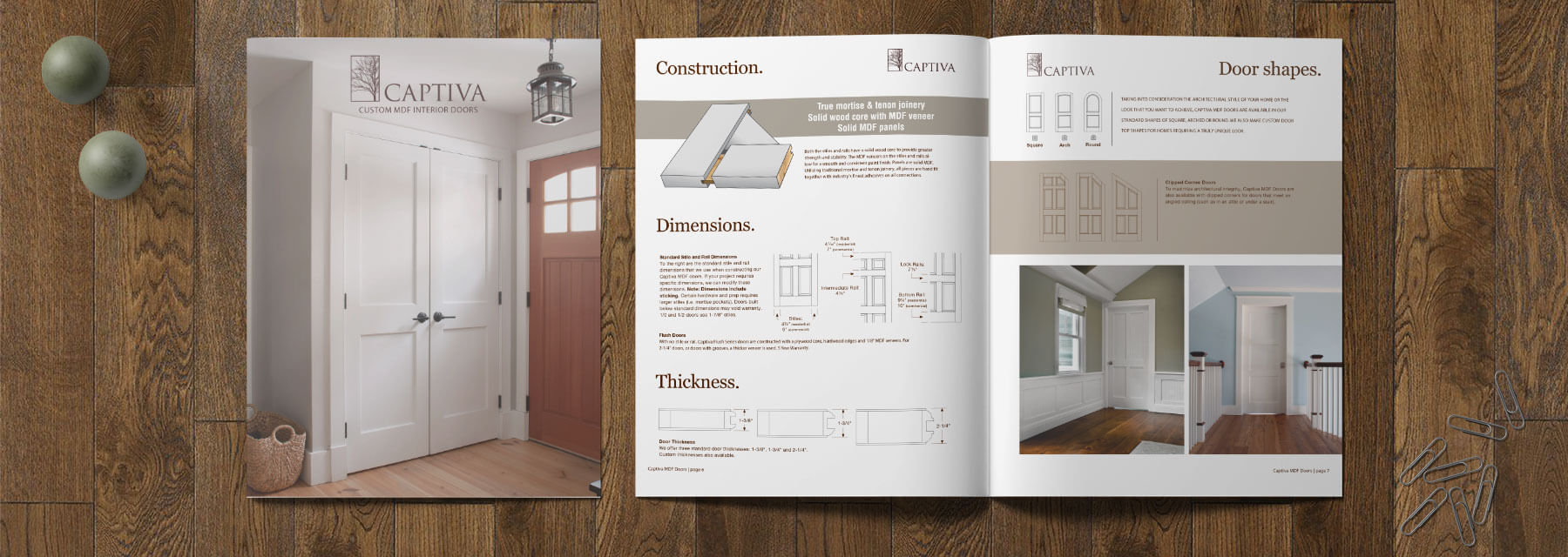 Captiva MDF Door Catalog